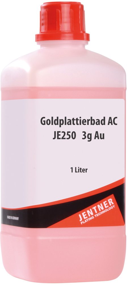 Gold Plating Bath, 1000 ml buy in the Artsupport Shop supplier for